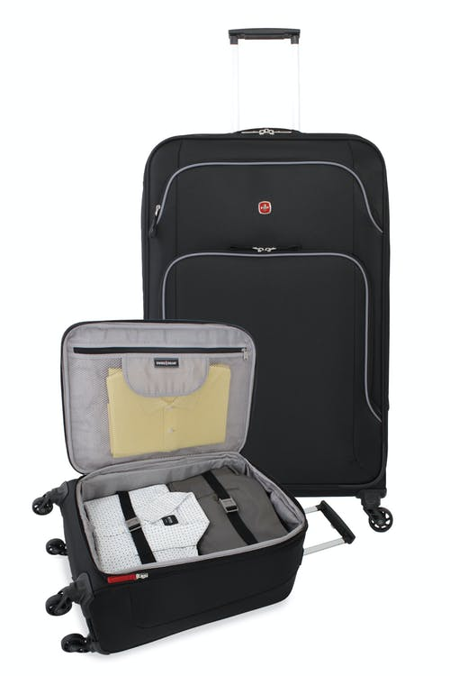SWISSGEAR 6320 Expandable Luggage 2pc set - Open View