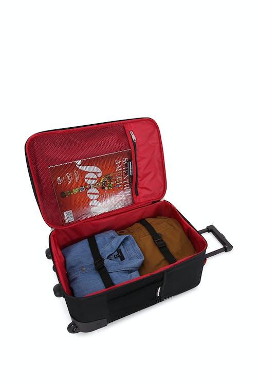 "Swissgear 6326 Boys Digicraft 18"" Pilot Case Adjustable clothing tie-down straps"