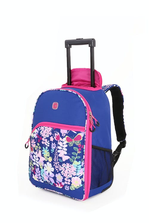 Swissgear 6337 Girls Rolling Backpack - Pink Floral