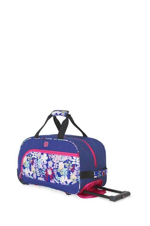 Swissgear 6337 Girls Rolling Duffel Bag - Pink Floral