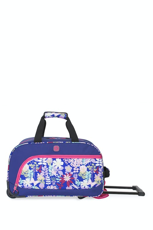 Swissgear 6337 Girl's Rolling Duffel made of 600D Polyester