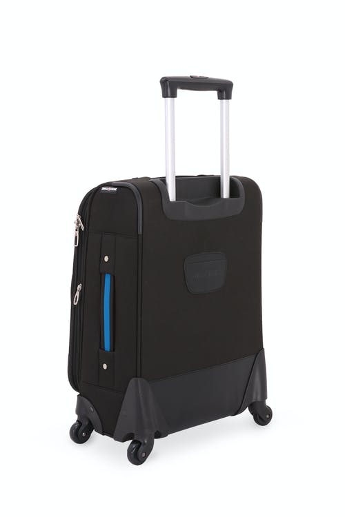 "Swissgear 6359 20"" Expandable Rhine Spinner Luggage - Reinforced, lay-flat top and side grab handles"