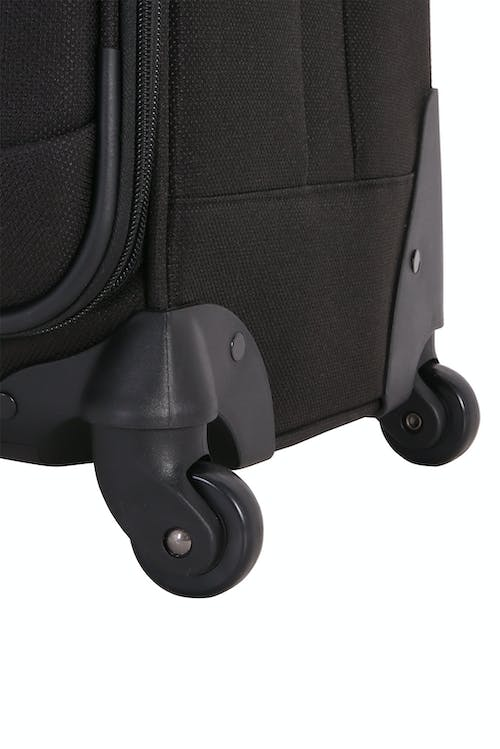 """SWISSGEAR 6359 20"""" Expandable Rhine Spinner Luggage - Four 360-degree, multi-directional spinner wheels"""