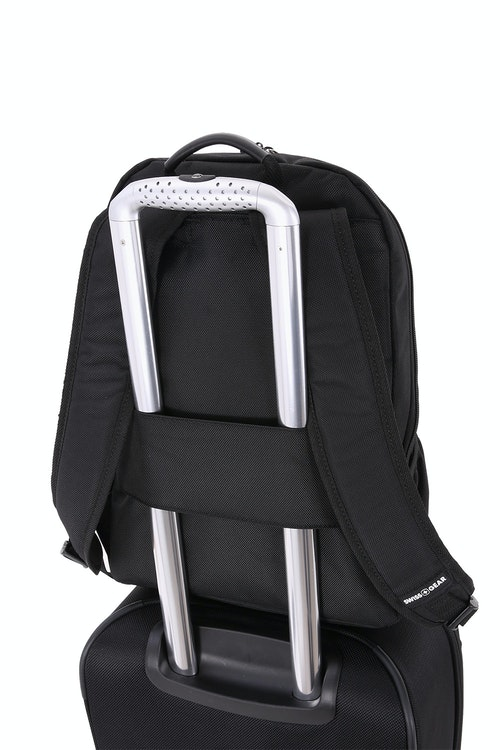 SWISSGEAR 6369 Laptop Backpack add-a-bag