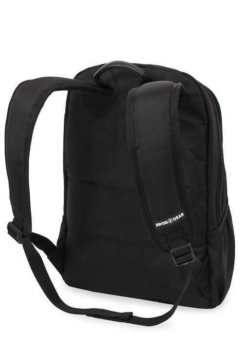 SWISSGEAR 6369 Laptop Backpack Adjustable ergonomically contoured, padded shoulder straps