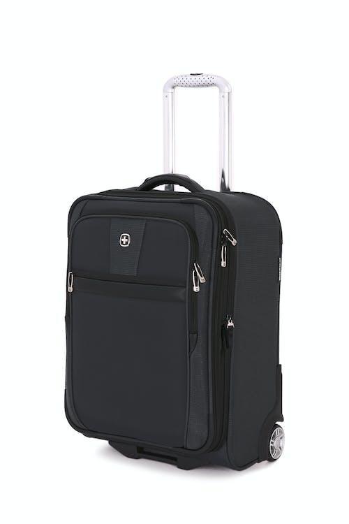 """SWISSGEAR 6369 20"""" 2 Wheel Upright Luggage in Black"""