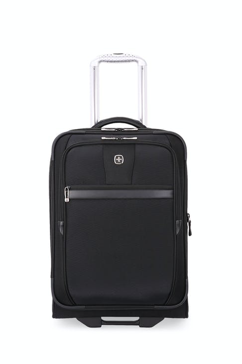 """SWISSGEAR 6369 20"""" 2 Wheel Upright Luggage expands by 1.5"""""""