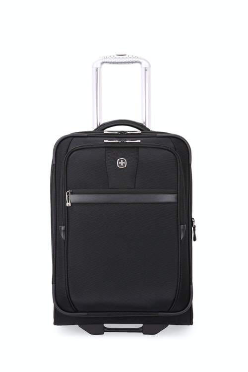 "SWISSGEAR 6369 20"" 2 Wheel Upright Luggage expands by 1.5"""