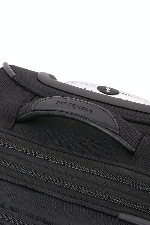 "SWISSGEAR 6369 20"" 2 Wheel Upright Luggage Reinforced, padded, top handle"