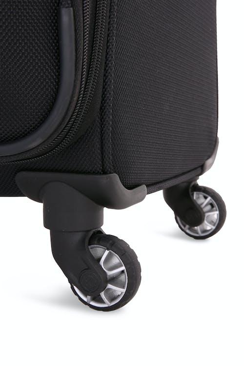 "SWISSGEAR 6369 28.5"" Spinner Luggage Four 360 degree, multi-directional spinner wheels"