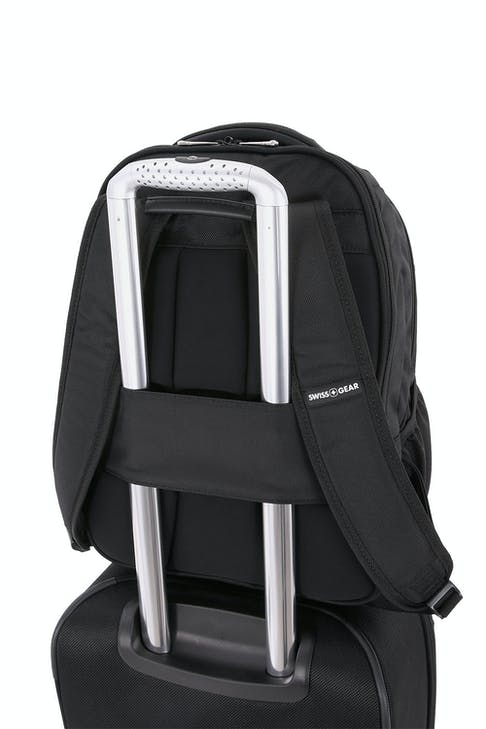 Swissgear 6392 Scansmart Backpack Add-a-bag trolley strap