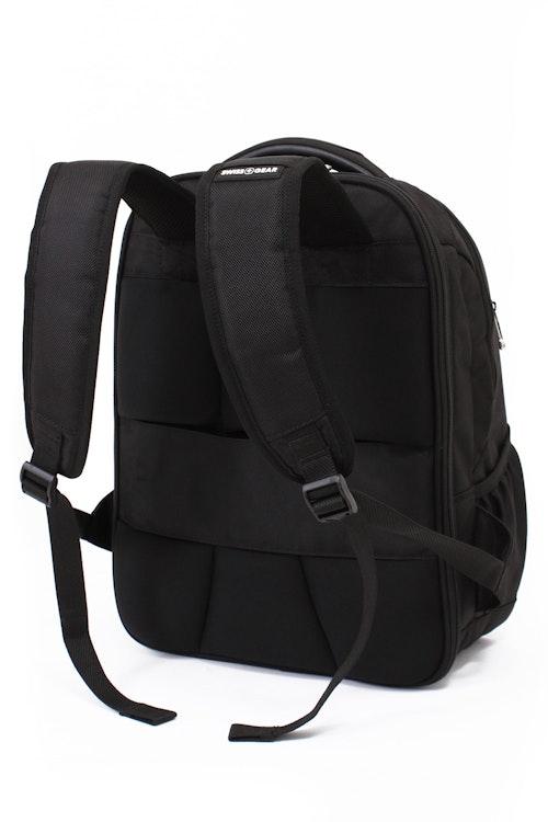 Swissgear 6392 Scansmart Backpack Adjustable ergonomically contoured, padded shoulder straps
