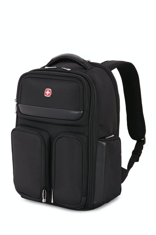 Swissgear 6393 ScanSmart Laptop Backpack - Black