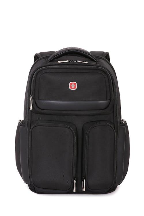 """SWISSGEAR 6393 17"""" ScanSmart Backpack in Black"""