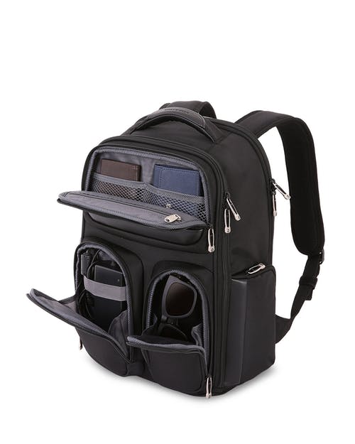 "SWISSGEAR 6393 17"" ScanSmart Backpack Front crush resistant compartment"