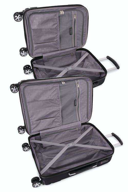 """SWISSGEAR 6396 Expandable 19""""  and 24"""" Hardside Spinner Interior"""