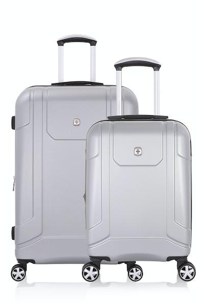 SWISSGEAR 6396 Expandable Hardside Spinner Luggage 2pc Set