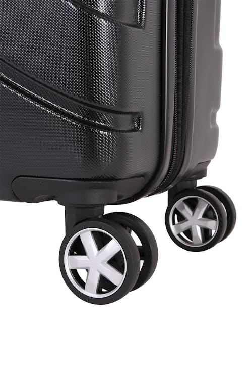 SWISSGEAR 6396 Expandable Hardside Spinner Eight 360 degree, multi-directional spinner wheels