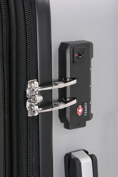 SWISSGEAR 6396 Expandable Hardside Spinner Integrated TSA approved combination lock