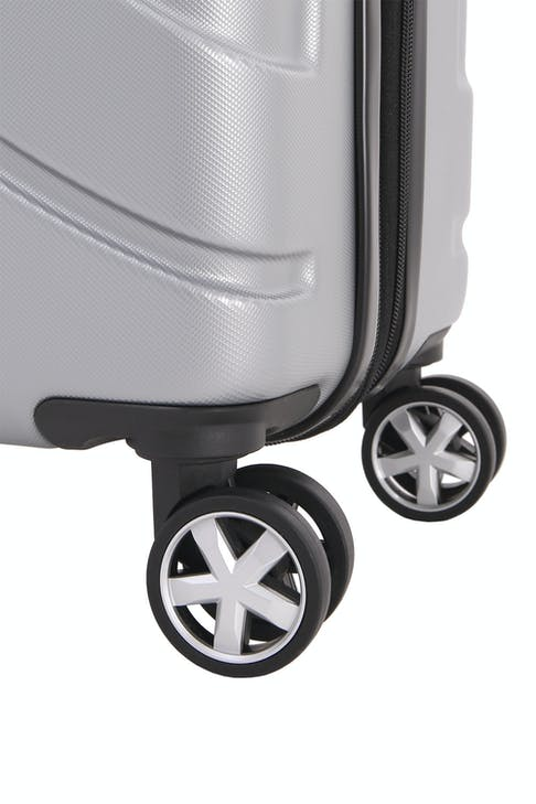 SWISSGEAR 6396 Expandable Hardside Spinner Eight 360 degree, multi-directional spinner wheels