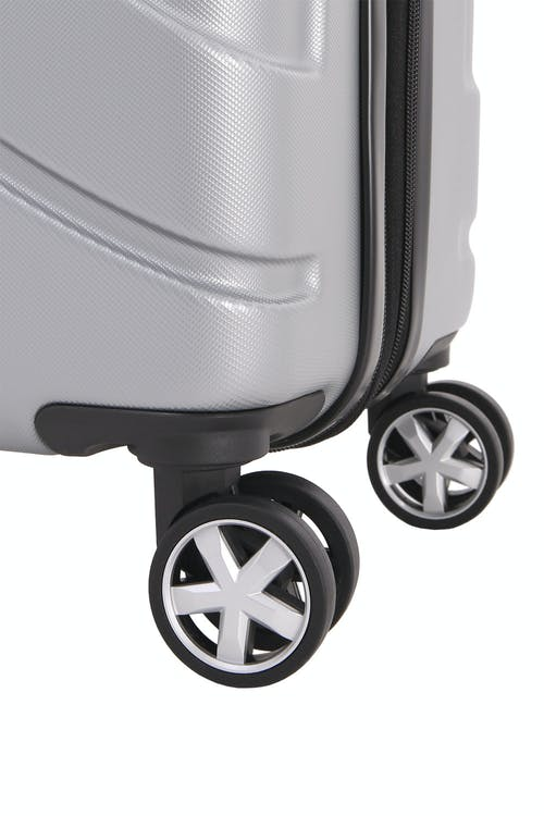 "SWISSGEAR 6396 19"" Expandable Hardside Spinner Eight 360 degree, multi-directional spinner wheels"
