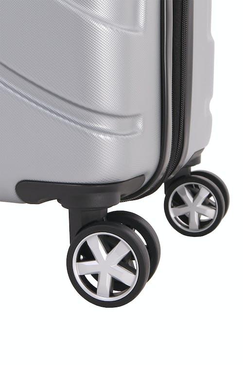 """SWISSGEAR 6396 24"""" Expandable Hardside Spinner Eight 360 degree, multi-directional spinner wheels"""