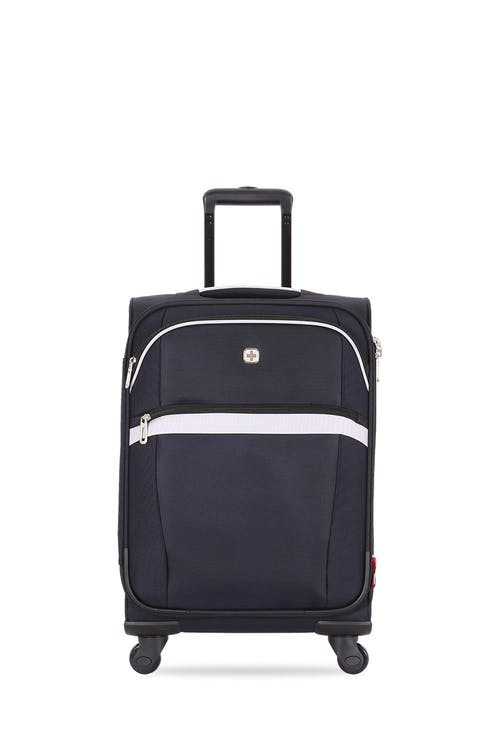 "SWISSGEAR 6397 18.5"" Expandable Liteweight Spinner Luggage Two front pockets for additional storage space"