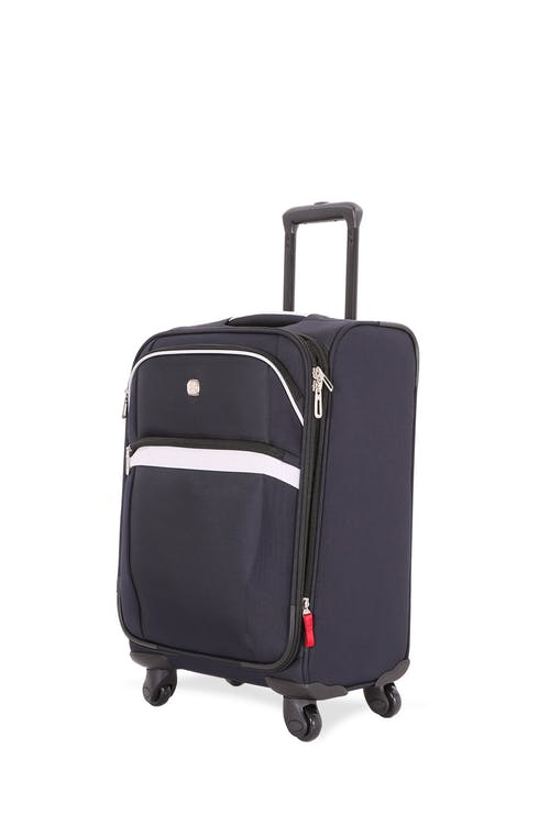 "SWISSGEAR 6397 18.5"" Expandable Liteweight Spinner Luggage - Noir/Gray"