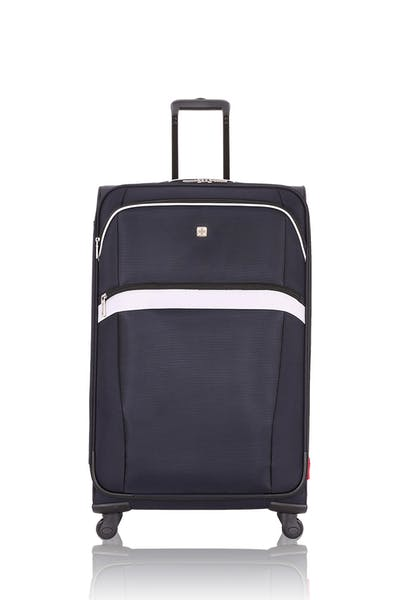 "SWISSGEAR 6397 22.5"" Expandable Liteweight Spinner Luggage - Noir/Gray"