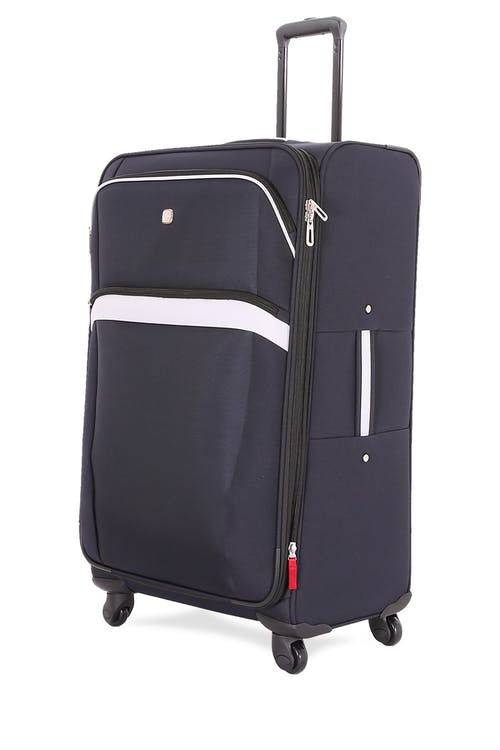 "Swissgear 6397 28"" Expandable Liteweight Spinner Luggage - Noir/Gray"