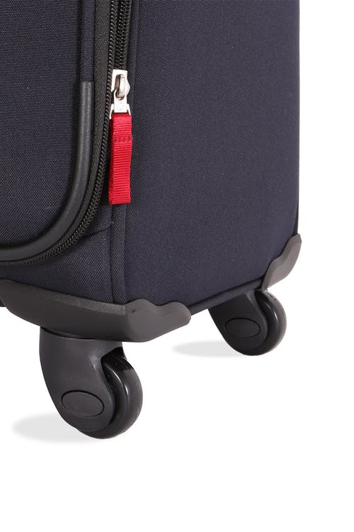 "SWISSGEAR 6397 28"" Expandable Liteweight Spinner Luggage Four 360-degree, multi-directional spinner wheels"