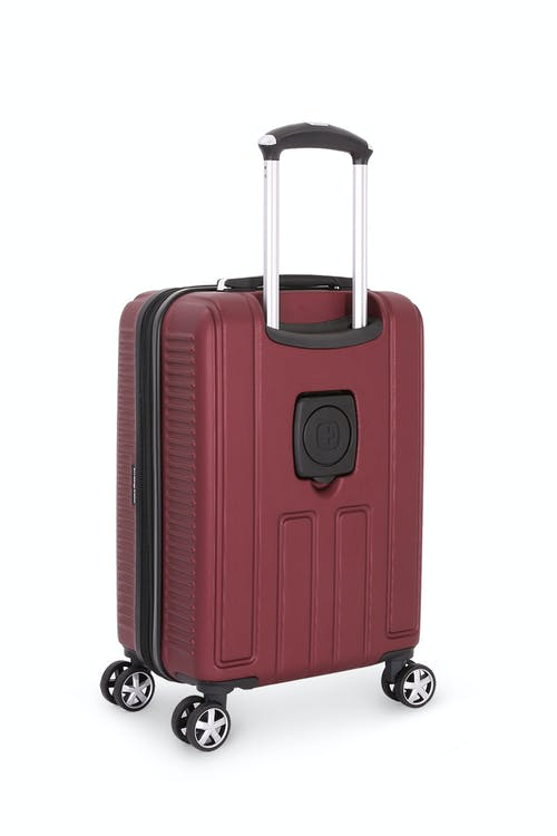 "SWISSGEAR 6399 20"" Hardside Spinner - Back"