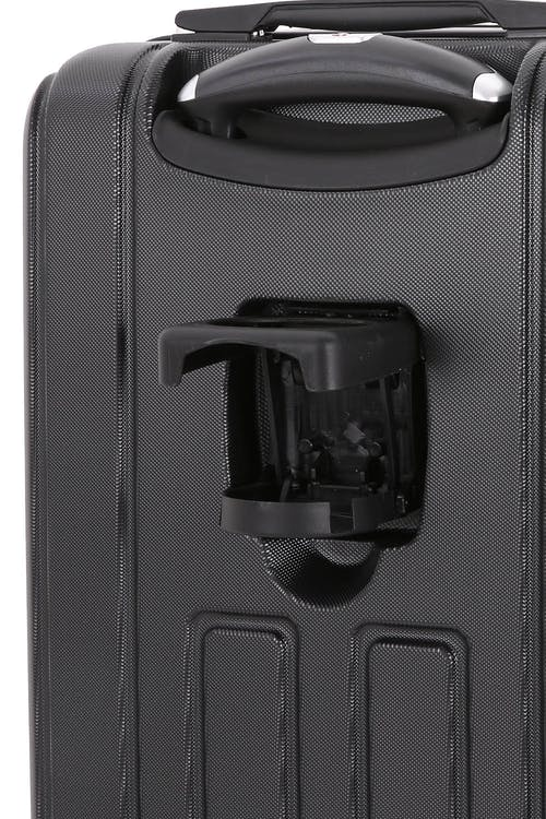 "SWISSGEAR 6399 20"" Hardside Spinner - Cup Holder Open"
