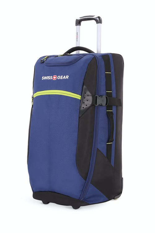 "Swissgear 6532 28"" Rolling Duffel Bag - Blue/Green"
