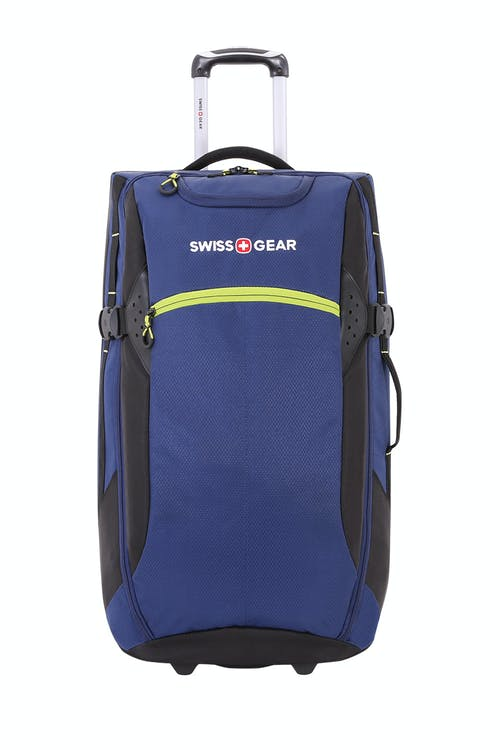 "Swissgear 6532 28"" Rolling Dufflel Exterior zippered accessory pocket"