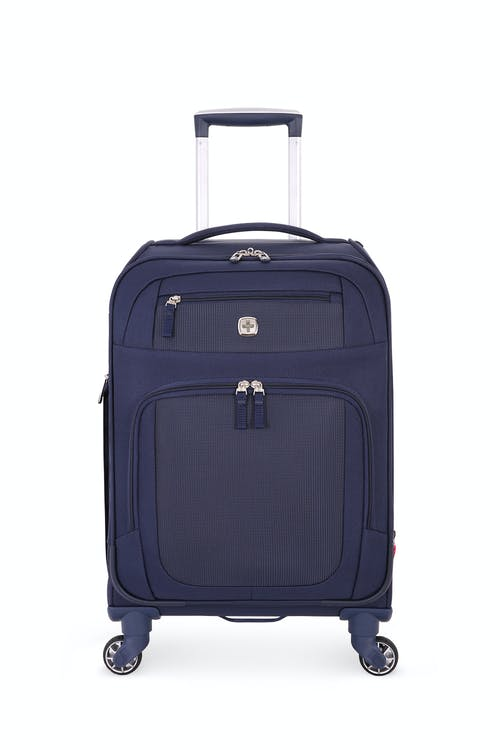 "SWISSGEAR 6570 19"" Liteweight Spinner Luggage - Blue/Grey"