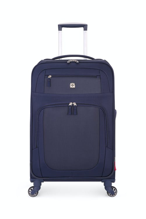 "SWISSGEAR 6570 24"" Liteweight Spinner Luggage - Blue/Grey"