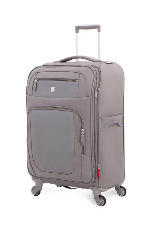 "SWISSGEAR 6570 24"" Liteweight Spinner Luggage - Grey"
