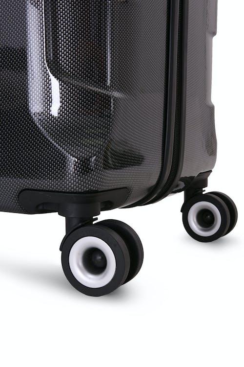 "SWISSGEAR 6572 Limited Edition 23"" Hardside Spinner Eight 360 degree, multi-directional spinner wheels"
