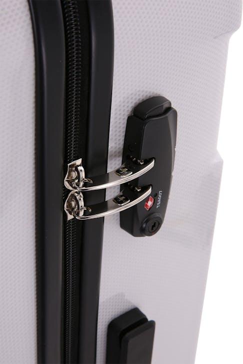 """SWISSGEAR 6572 27"""" Hardside Spinner Zippered divider panel"""
