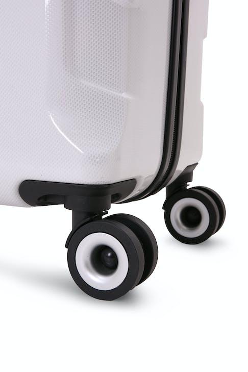 """SWISSGEAR 6572 27"""" Hardside Spinner Eight 360 degree, multi-directional spinner wheels"""