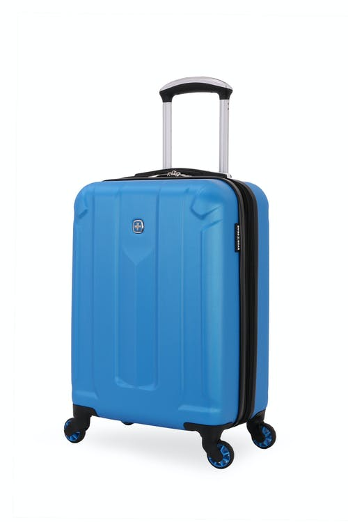 "Swissgear 6573 18"" Zurich Expandable Carry On Hardside Spinner Luggage"
