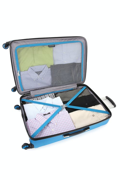 "Swissgear 6573 Zurich 28"" Hardside Spinner Split case design"