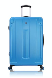 "SWISSGEAR 6573 Zurich 27"" Expandable Hardside Spinner Luggage - Blue Mylar"