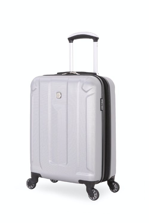 "Swissgear 6573 Zurich 19"" Hardside Spinner - Light Silver"