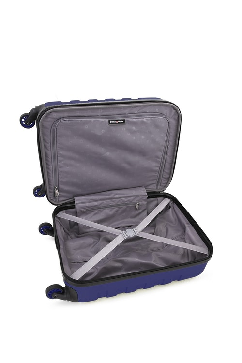 "SWISSGEAR 6581 19"" Hardside Spinner Clothing tie-down straps"