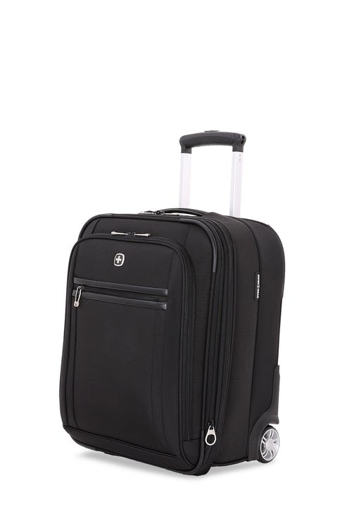 "Swissgear 6590 Geneva 18"" Wheeled Carry On Luggage expands with up to 2"""