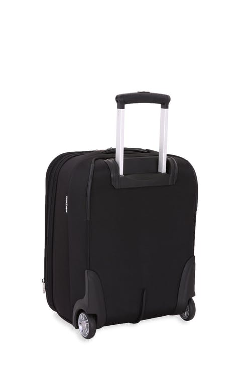 "Swissgear 6590 Geneva 18"" Wheeled Carry On Luggage draped in premium quality 1680D ballistic polyester"