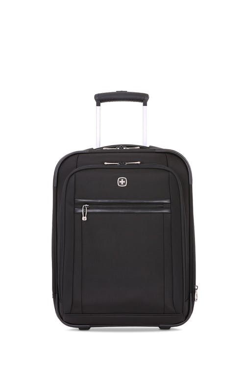 "Swissgear 6590 Geneva 18"" Wheeled Carry On Luggage - Black"