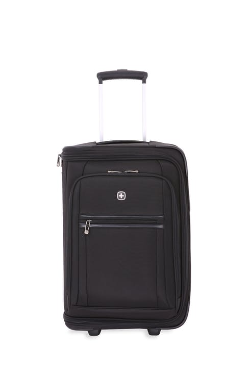 SwissGear 6590 Geneva 22 Carry On Luggage w/ Garment - Black